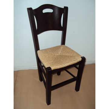 Cheap Wooden Chair Sifnos for traditional Coffee shops, Cafe, Tavern, bistro, pub, Cafeteria, Restaurant, coffee bars