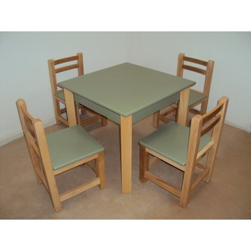 Professional Children's Wooden Table for nurseries and kindergartens