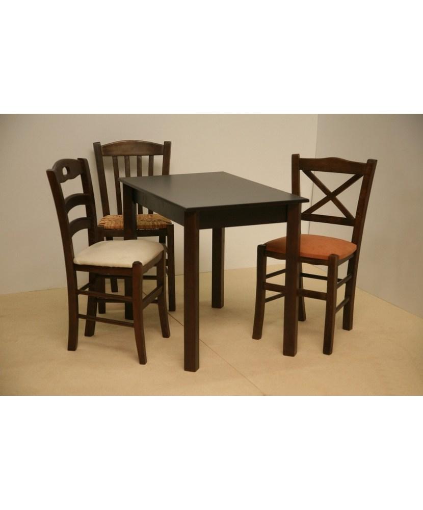 Professionelle traditionelle Holztisch