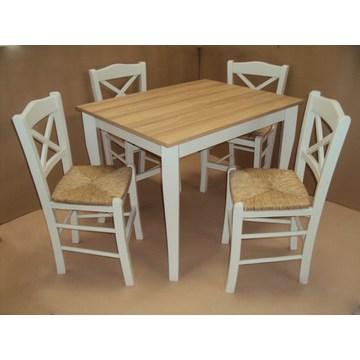 Professioneller traditioneller Holztisch für Gastronomie, Restaurant, Taverne, Cafe Bar, Bistro, Pub