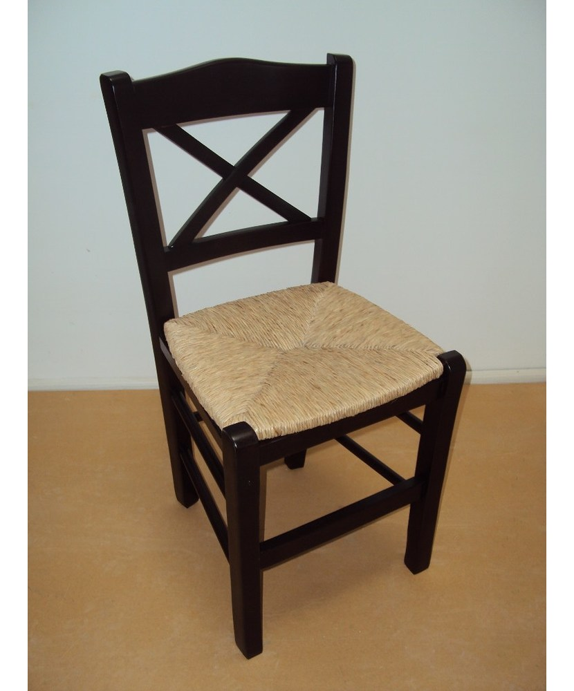 Traditional Wooden Chair Chios