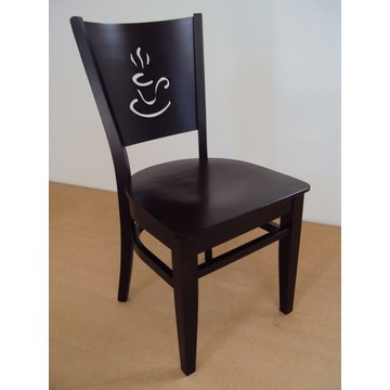 Professional Traditional Wooden Chair Cappuccino  for Restaurant, Coffee shop ,Tavern, Bistro, Gastronomy, Pizzeria, pub
