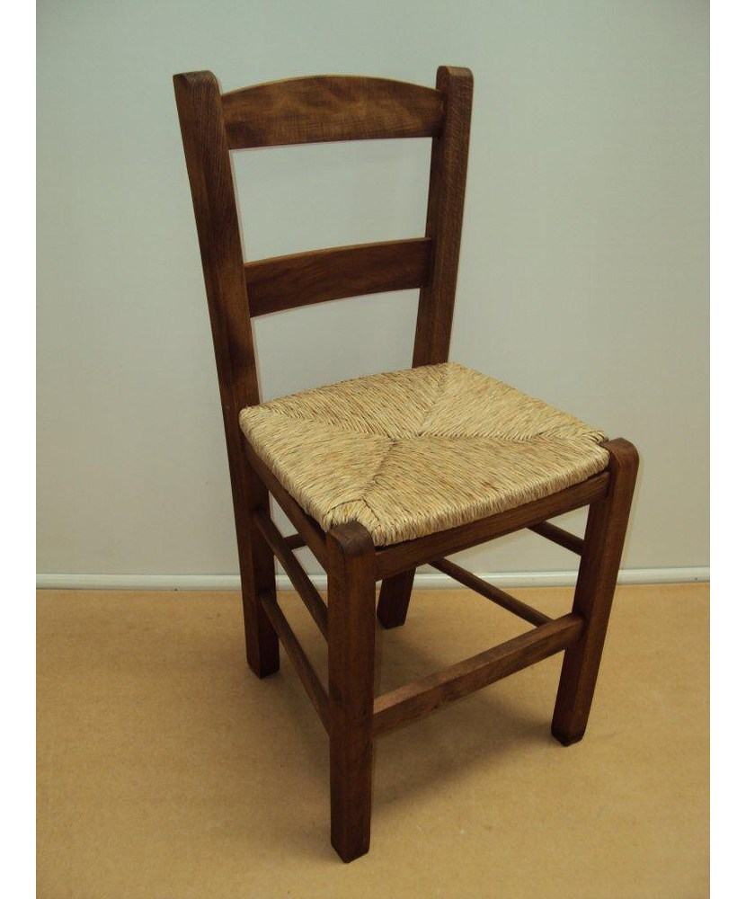 Traditional Wooden Chair Samos