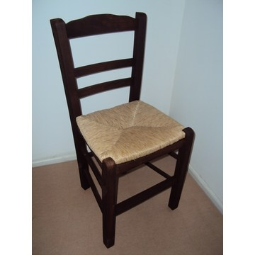 Professional Traditional Wooden Chair Syros for Restaurant, Coffee shops, gastronomy, Tavern, bistro, pub, coffee bars