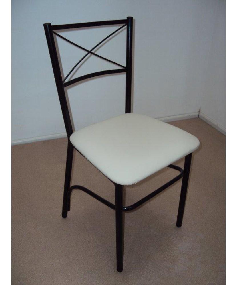 Professional Metal chair crosswised