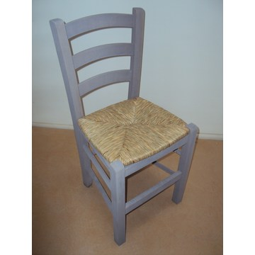 Traditional Wooden Chair Sifnos   for Restaurant, Coffee shops, gastronomy, Tavern, bistro, pub, coffee bars