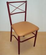 Chaises en métal